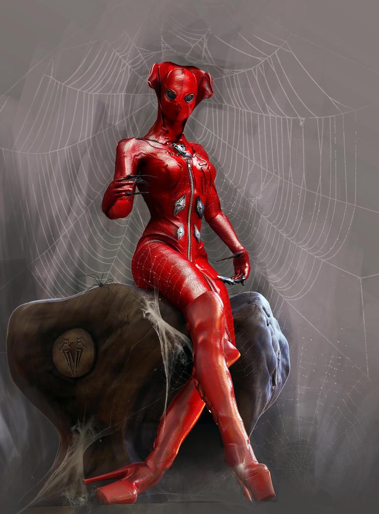 Miss.Spider by goor