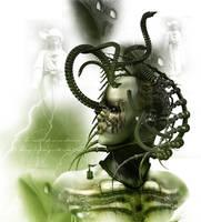 Cyber Medusa by goor