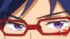 Rei Ryugazaki Stamp ~ Free!! by JulianaJealousy