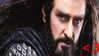 Thorin Oakenshield Stamp ~ The Hobbit by JulianaJealousy