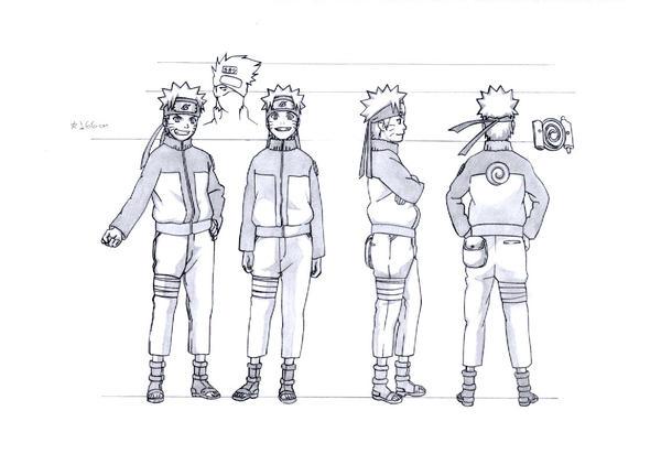 Naruto Character Design Sheet : Naruto modelsheet by uchiha harumi on deviantart