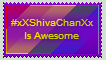 #xXShivaChanXx Is Awesome Stamp by Shadow-Dragon91