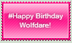 #Happy Birthday Wolfdare! Stamp by Shadow-Dragon91