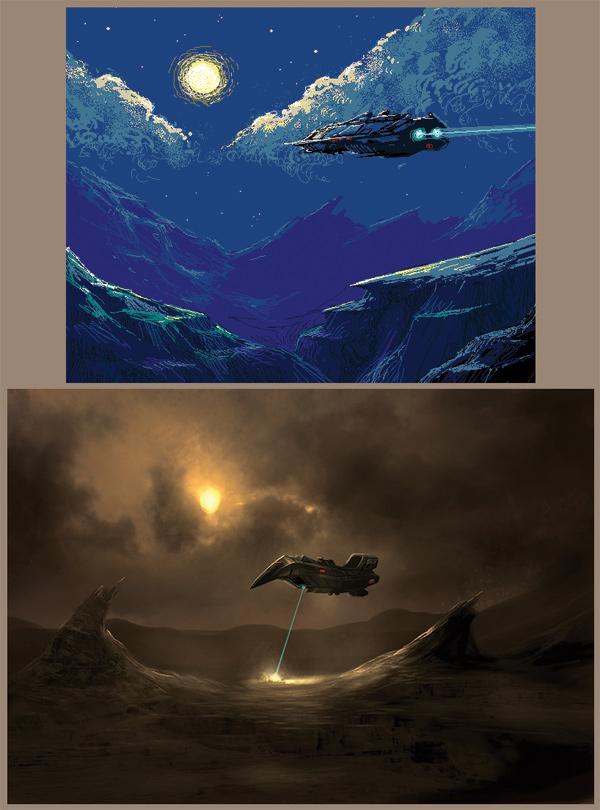 Sci-fi bits. by JasonHeeley