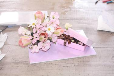 Valentine's Flowers by burntumber