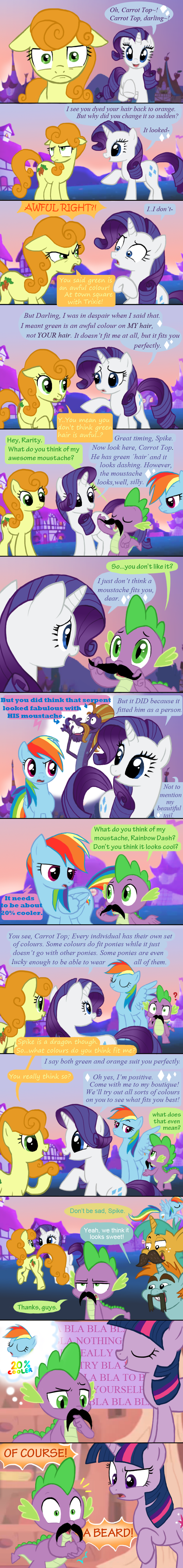 MLP FiM During Boast Busters by PepperSupreme