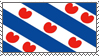 Fryslan flag. by dropkehoi