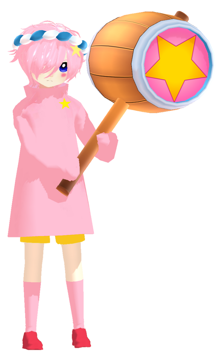 Kirby Hammer Mmd By Laurausagirojas On Deviantart