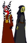 Microseries Shaak and Barriss