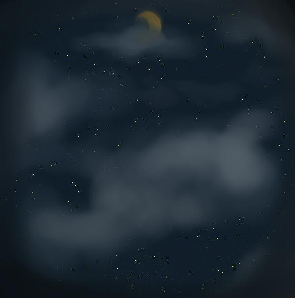 Night sky by RaiguTheFox