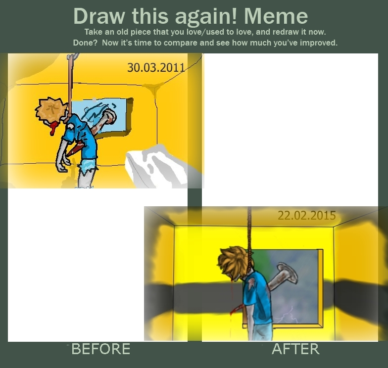 Meme  Before And After 5 by RaiguTheFox