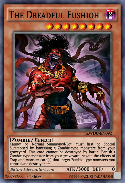 the dreadful fushioh updated by batmed on deviantart