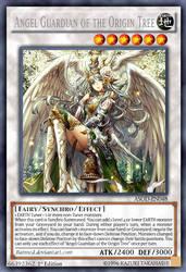 Angel Guardian of the Origin Tree by BatMed