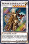 Palladium Queen of All Wisdom