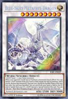 Blue-Skies Metaphys Dragon by BatMed