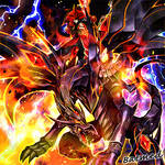 Flame Swordsman the Red-Eyes Knight by BatMed