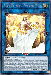 Seraph with Eyes of Blue