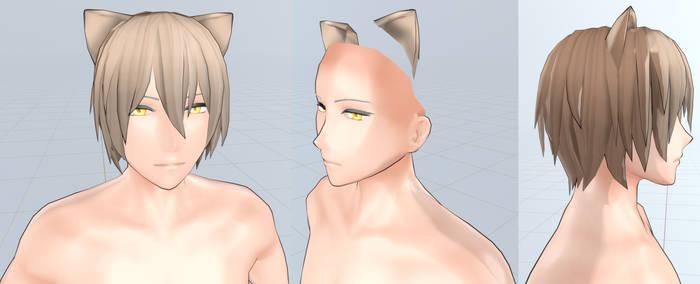 [Blender 3D] Ikemen Base with Outlines (WIP)