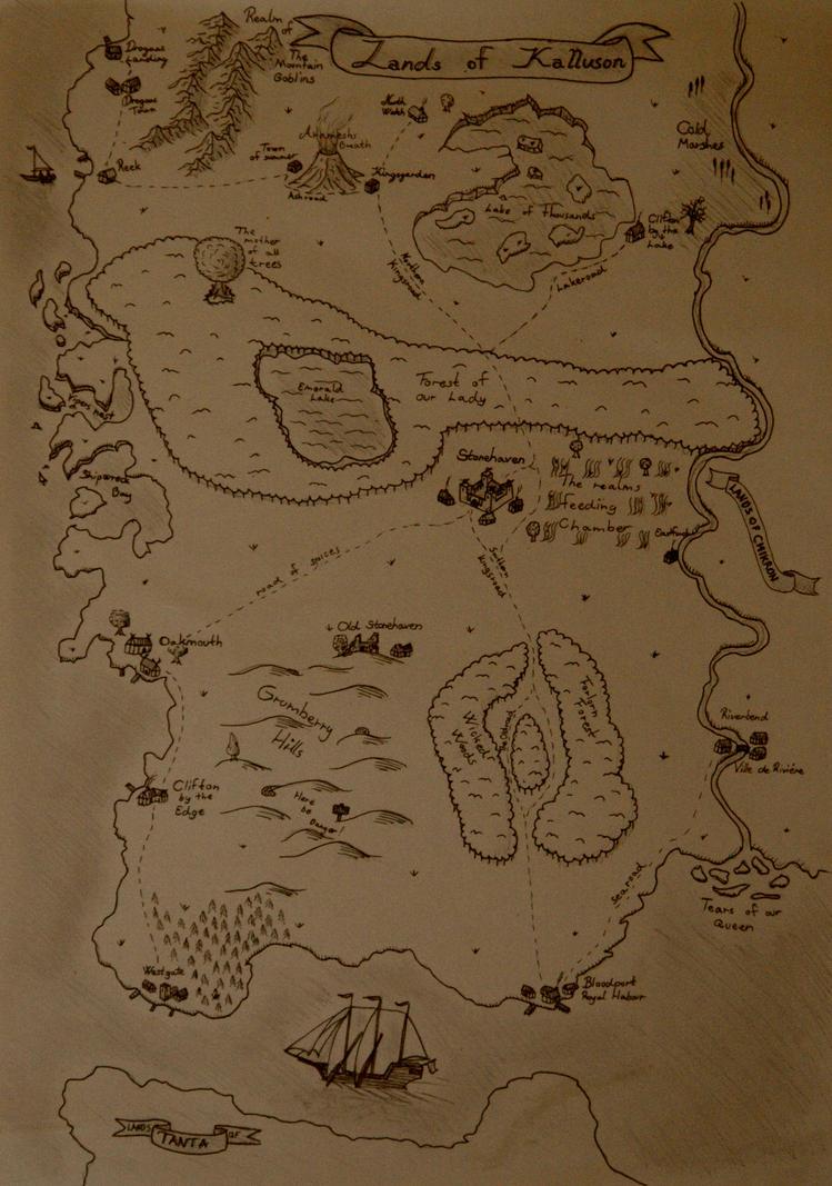 Lands of Kalluson by Sigvardt87