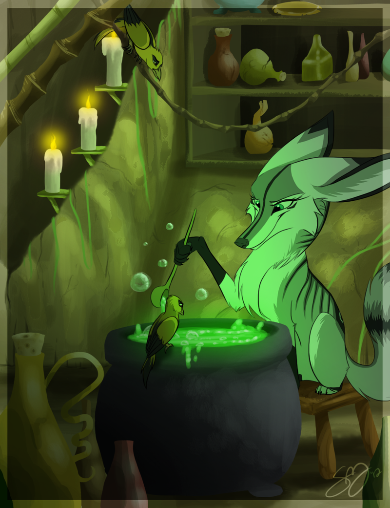 Evil Enchantress by probablyfakeblonde