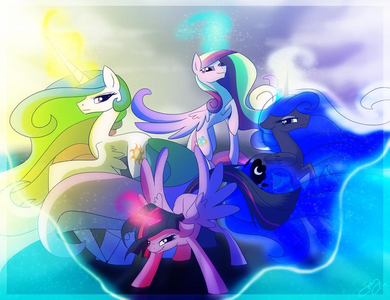 Pretty Pony Princesses by Famosity
