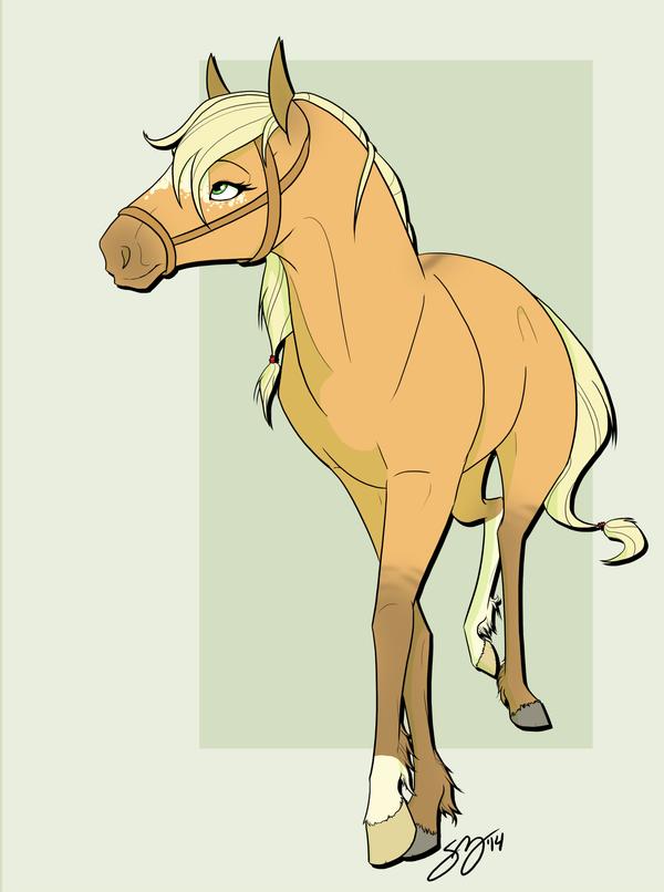 Applejack Horse by Famosity