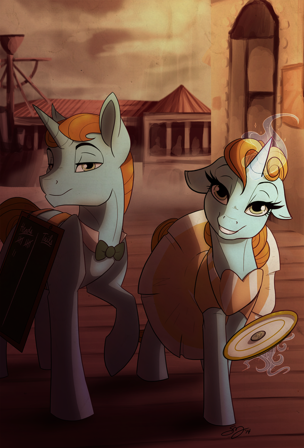 Heads or Tails? by Famosity