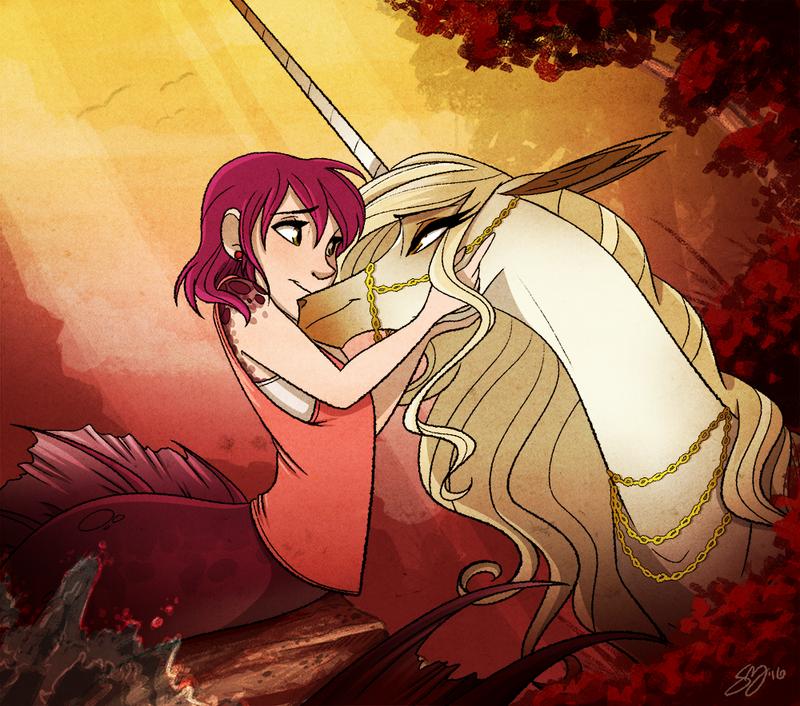 Hug the Horse - Speed Draw by probablyfakeblonde
