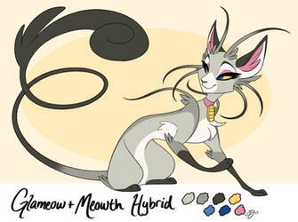 Glameowth Pokemon Hybrid Adoptable! - Taken by probablyfakeblonde