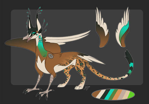 Peahen/Jaguar Adoptable - SOLD