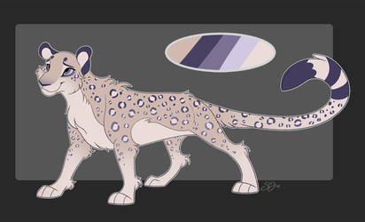 Snow Leopard Adoptable - SOLD
