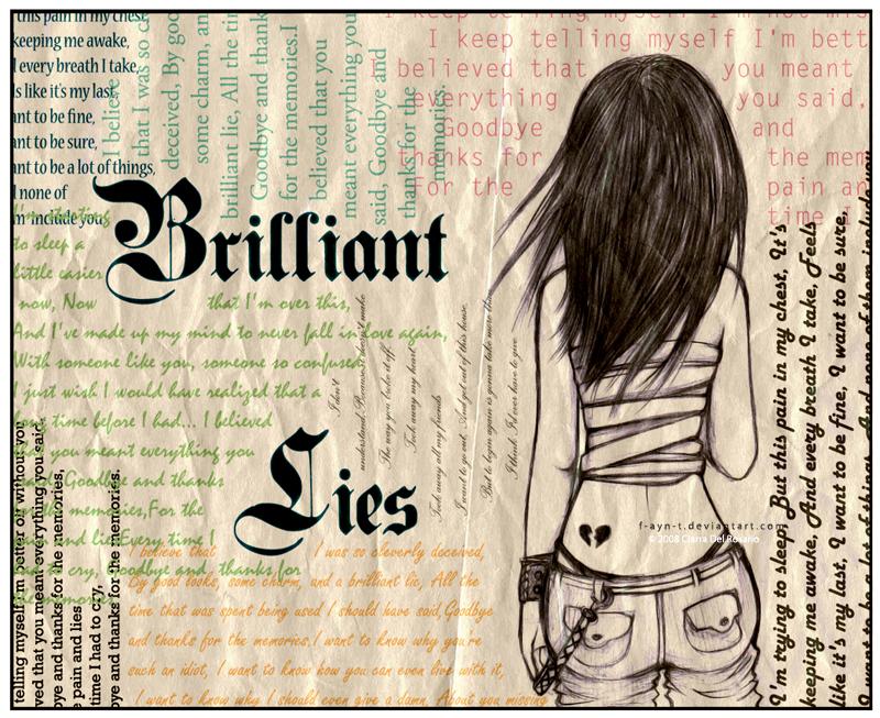 : Brilliant Lies : by F-AYN-T