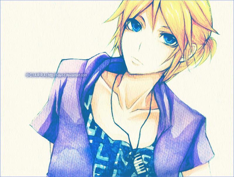 : Vocaloid - Len : by F-AYN-T