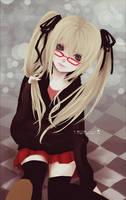 : Blonde School Girl : by F-AYN-T
