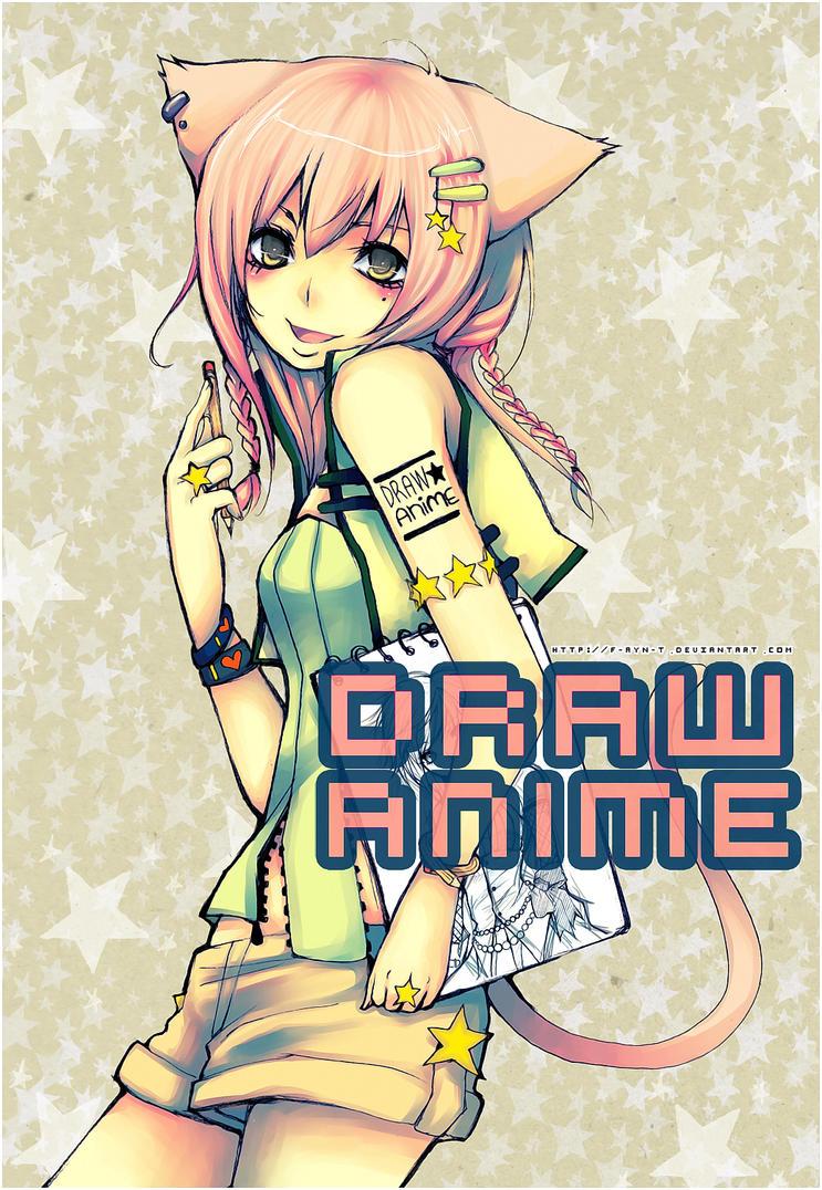 : Draw Anime: Mieko : by F-AYN-T