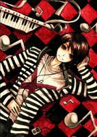 : Crimson Tiles : by F-AYN-T