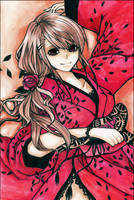 -- Red Kimono -- by F-AYN-T