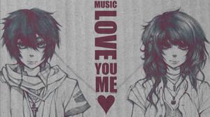 Music, Love. by F-AYN-T