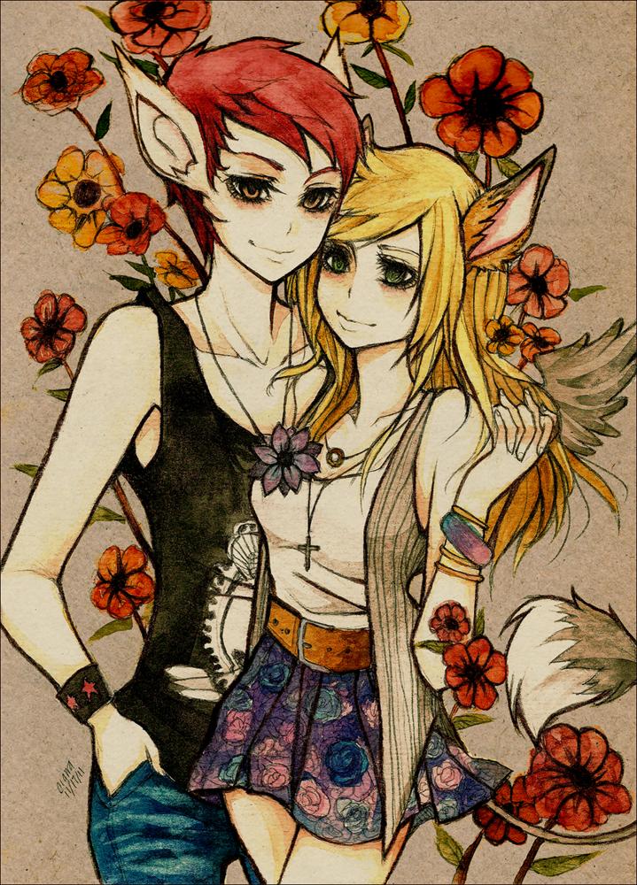 Flowery by F-AYN-T