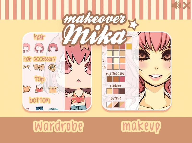 Makeover Mika ----- GAME by F-AYN-T
