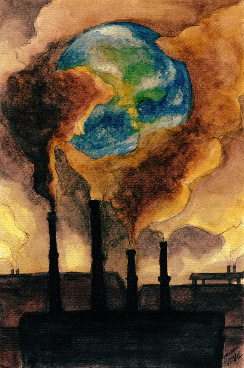 The Commuter >> Global Warming by F-AYN-T on DeviantArt