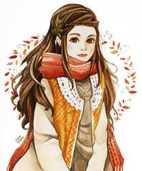 A Mori Autumn by F-AYN-T