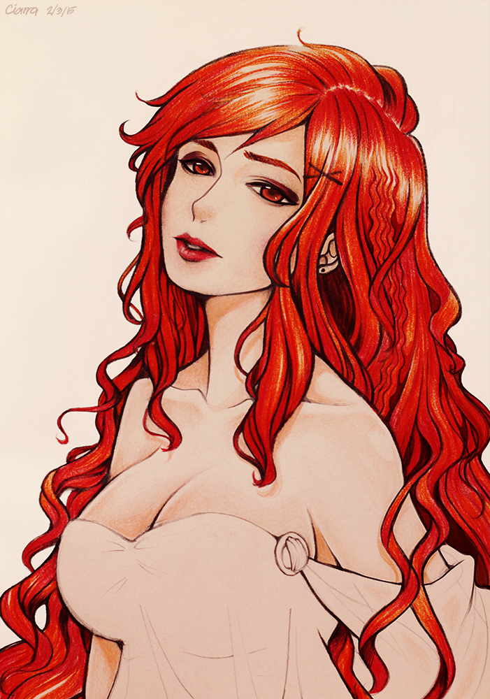 The Red Lady by F-AYN-T