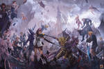 Dissidia Final Fantasy by Tuna-art