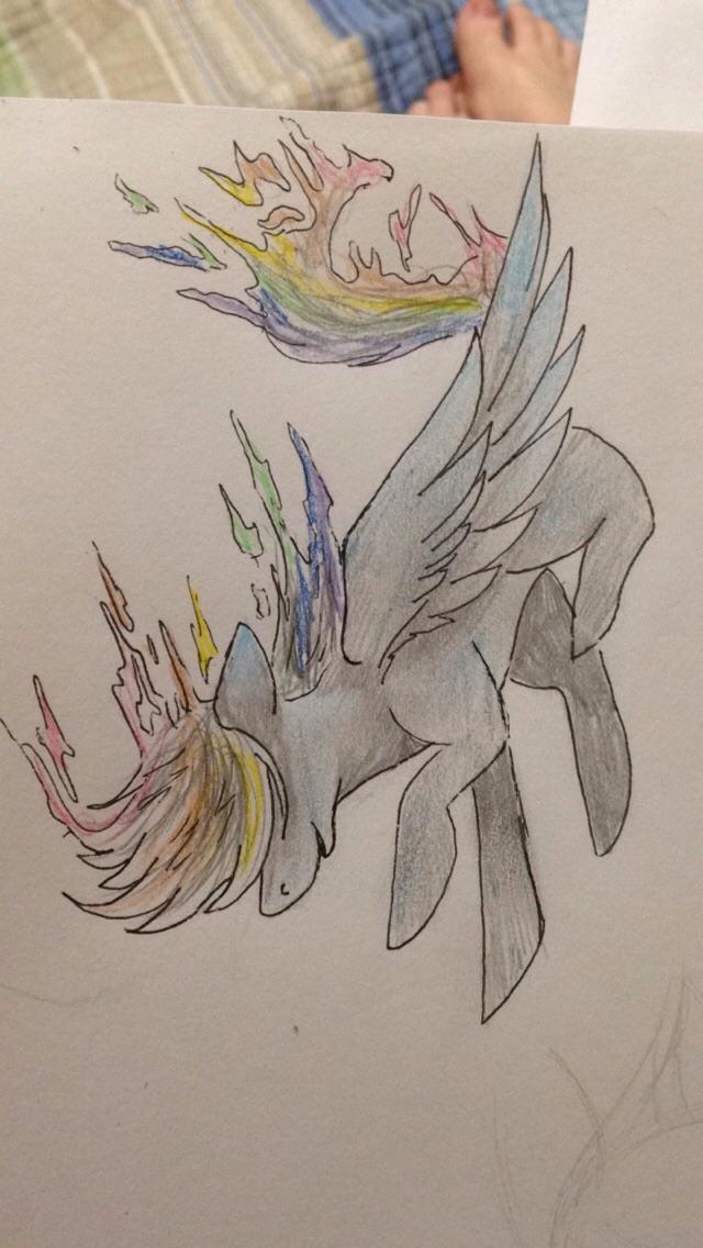 Rainbowdash by blackmuttofdoom