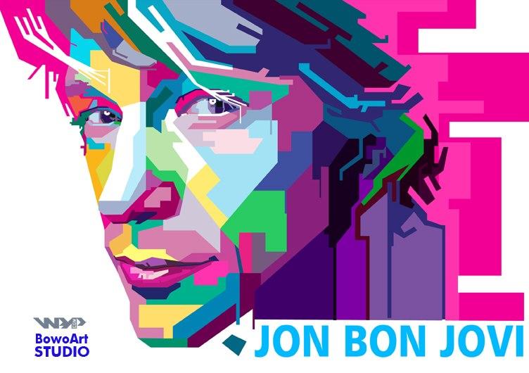 Jon Bon Jovi by bowokarikatur
