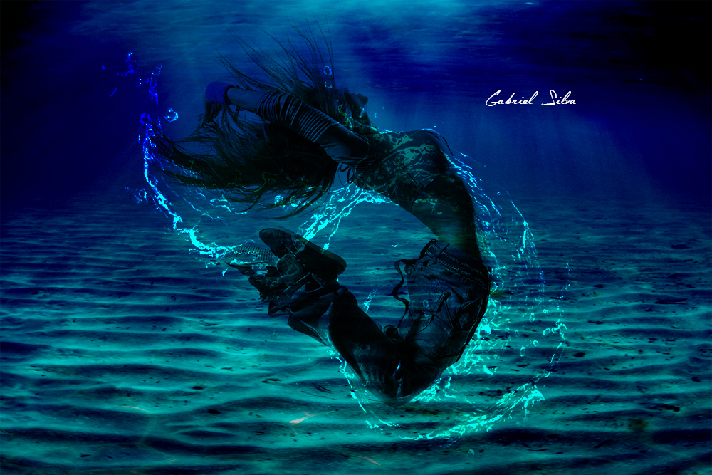 Splash Aqua by GabixShoot