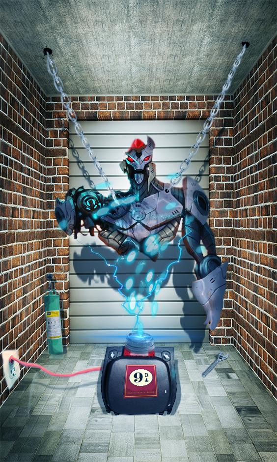 Robo destruido by GabixShoot