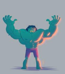 Hulk II by andersonnascimento