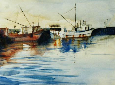 Mornington, Scallop boats 1 by benwarner